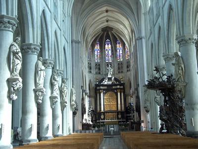 Sint romboutskathedraal van mechelen for Interieur mechelen