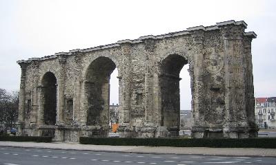 Porte Mars à  Reims
